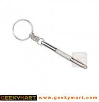 3 in 1 Portable Eyeglass Screwdriver Keychain