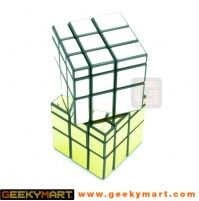 3D Mirror Reflective Brain Teaser Twisting Cube