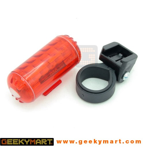 Battery Powered 5 LED Bicycle Rear Safety Blinker