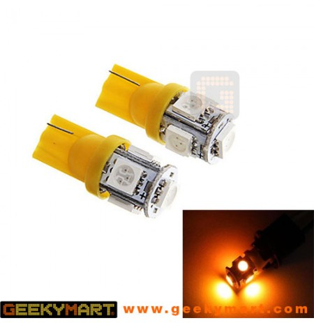 LED Signal Light Bulbs for Car/Bike (Set of 2)