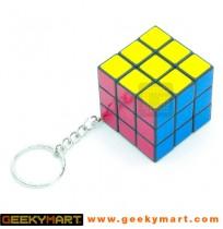 Mini Brain Teaser Cube Keychain