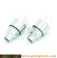 Motion Activated Tyres Air Cap LED Safety Lights (Set of 2)