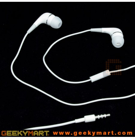 In-Ear Earphone with Mic for Mobile Phones with Storage Case