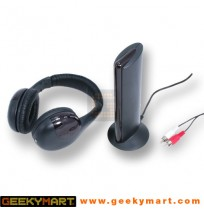 Wireless Stereo Headphone with FM Radio